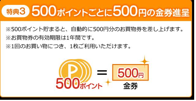 ファッションハウスなかつじ|長崎県諫早市・島原市のファッション店,500ポイントごとに500円の金券進呈